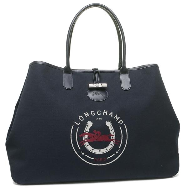 Longchamp tote bag Lady\u0027s LONGCHAMP 1369 643 006 navy