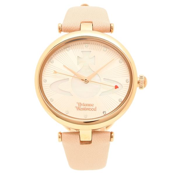 ヴィヴィアンウエストウッド 腕時計 レディース VIVIENNE WESTWOOD VV184LPKPK ライトピンク パール