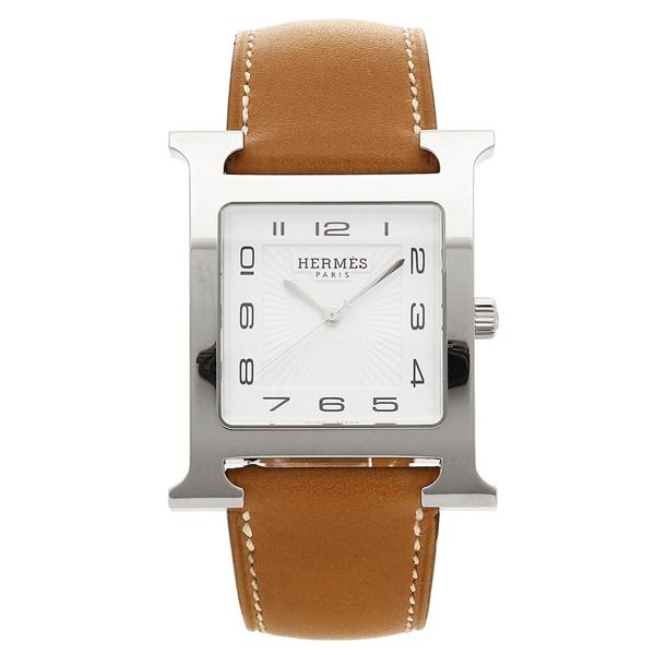 エルメス 腕時計 レディース HERMES HH1.810.131/VBA 036833WW00 ブラウン シルバー ホワイト