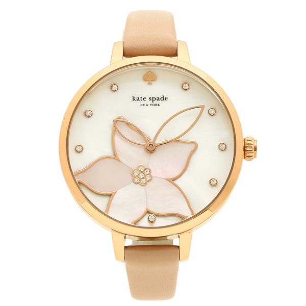 ケイトスペード 腕時計 レディース KATE SPADE KSW1302 ホワイトパール ローズゴールド ピンクベージュ