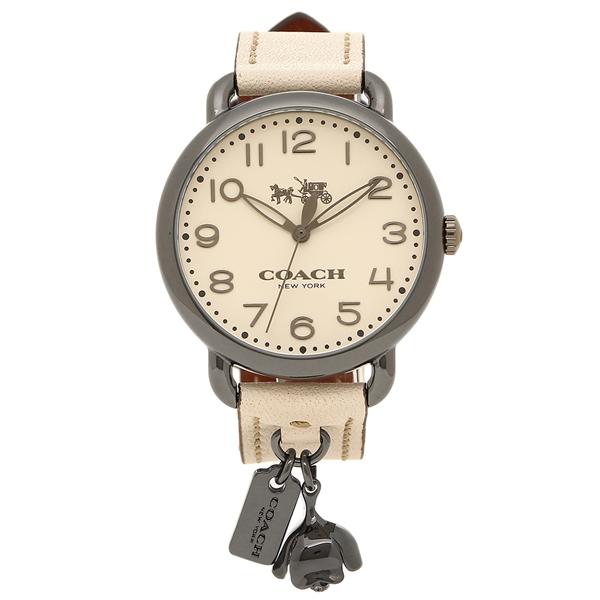 【72時間限定ポイント10倍】【返品OK】コーチ 腕時計 レディース COACH 14502743 ホワイト シルバー