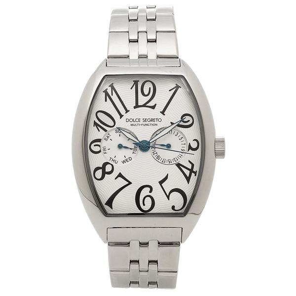 【4時間限定ポイント10倍】【返品OK】ドルチェセグレート 腕時計 メンズ DOLCE SEGRETO MFK100SV シルバー
