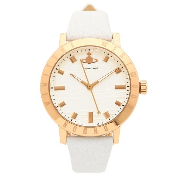 【4時間限定ポイント10倍】ヴィヴィアンウエストウッド 腕時計 レディース VIVIENNE WESTWOOD VV152WHWH ホワイト ローズゴールド