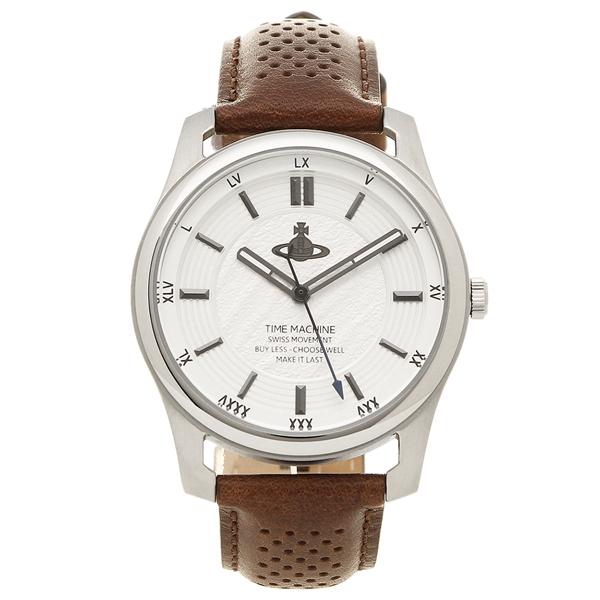 【24時間限定ポイント5倍】ヴィヴィアンウエストウッド 腕時計 メンズ VIVIENNE WESTWOOD VV185SLBR ブラウン シルバー