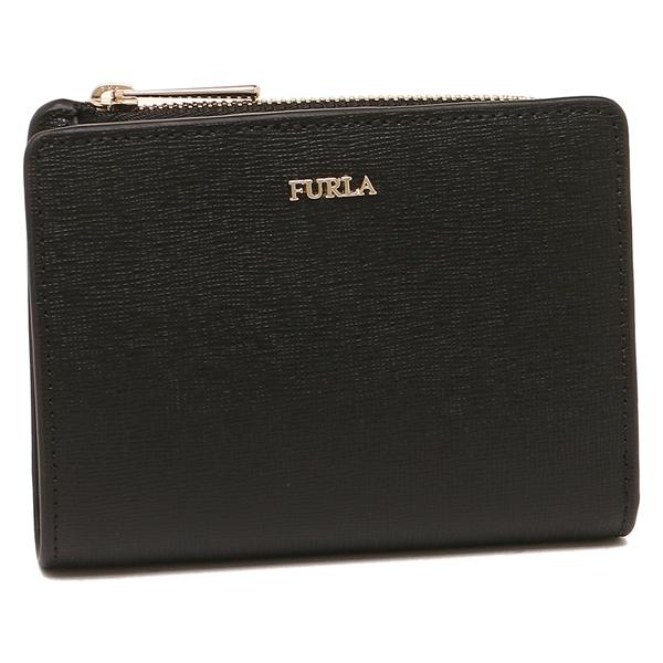 フルラ 二つ折り財布 レディース FURLA 943509 PU75 B30 O60 ブラック