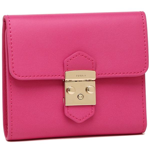フルラ 二つ折り財布 レディース FURLA 943774 PU28 VFO FUR ピンク