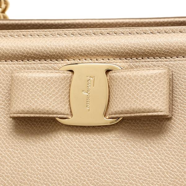 ea6e2b6082 Ferragamo tote bag Lady s Salvatore Ferragamo 21G508 0674290 007 beige