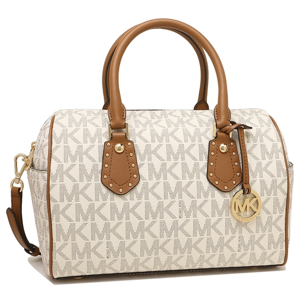 Michael Kors Handbag Shoulder Bag Outlet Lady S 35s8gxas6b Vanilla Acrn White Brown