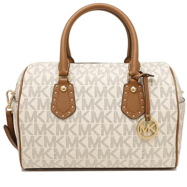 4e4ff5ff0895 ... coupon code for michael kors handbag shoulder bag outlet ladys michael  kors 35s8gxas6b vanilla acrn white