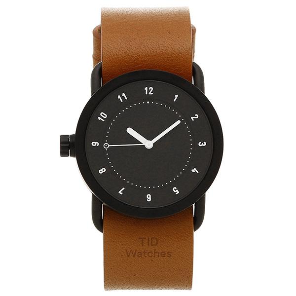 【72時間限定ポイント10倍】【返品OK】ティッドウォッチ 腕時計 メンズ/レディース TID01-36BK/T ブラック タン TID Watches