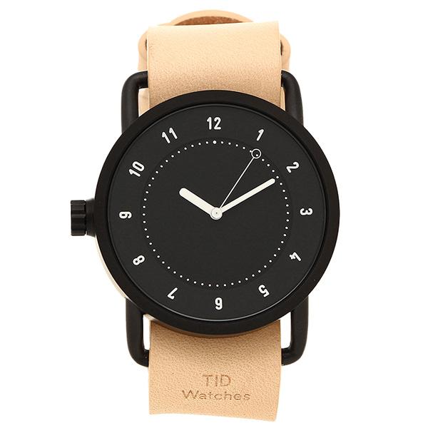 【6時間限定ポイント10倍】【返品OK】ティッドウォッチ 腕時計 メンズ/レディース TID01-BK/N ブラック ナチュラル TID Watches