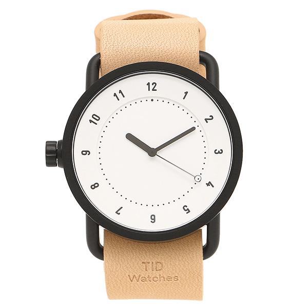 【26時間限定ポイント10倍】【返品OK】ティッドウォッチ 腕時計 メンズ/レディース TID01-WH/N ブラック ホワイト ナチュラル TID Watches