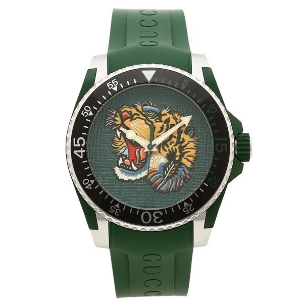 グッチ 腕時計 メンズ GUCCI YA136316 グリーン