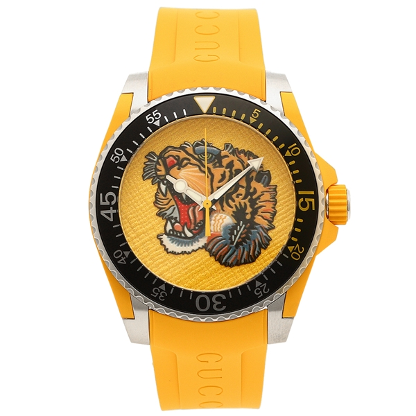 【4時間限定ポイント10倍】グッチ 腕時計 メンズ GUCCI YA136317 イエロー