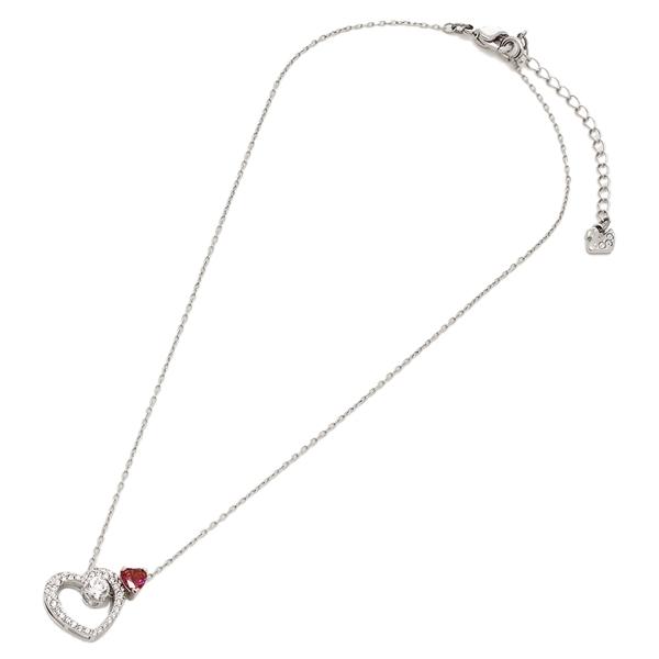 747f4cc1cec Swarovski necklace pierced earrings accessories Lady s SWAROVSKI 5391766  silver red
