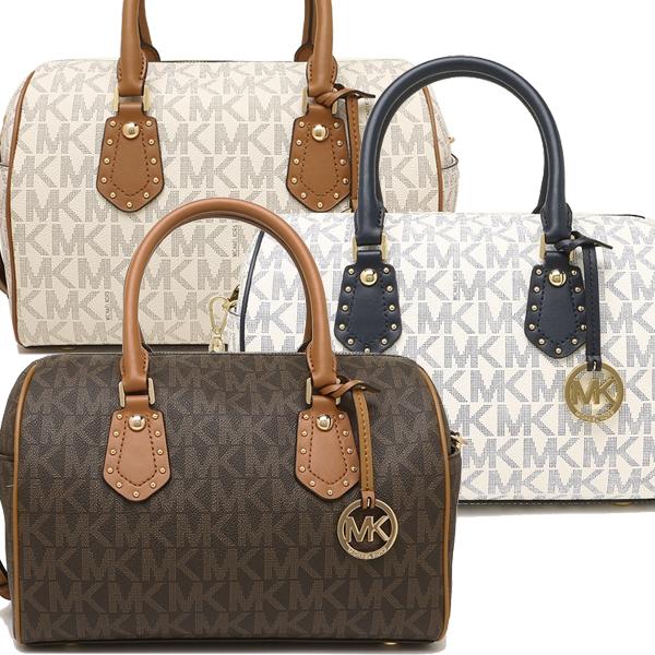 Michael Kors Bag Outlet 35s8gxas6b Medium Studded Satchel Lady S Handbag Shoulder