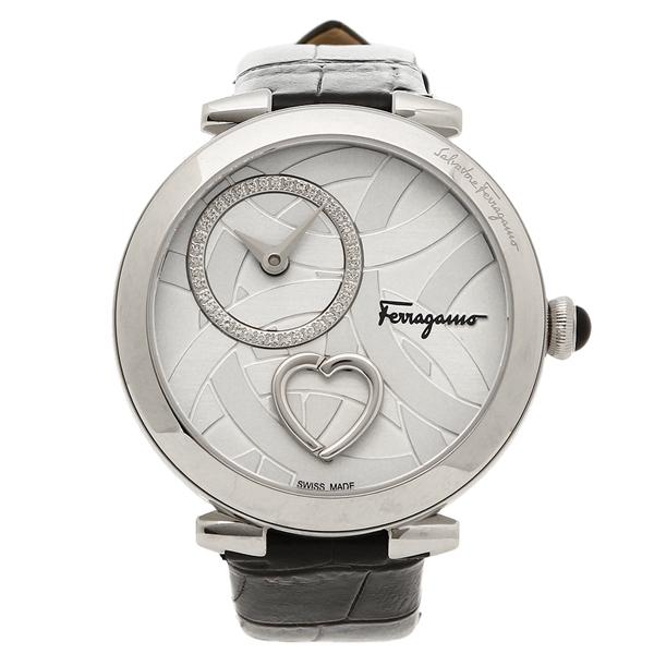 【期間限定ポイント5倍】【返品OK】フェラガモ 腕時計 メンズ Salvatore Ferragamo FE2020016 シルバー ブラック
