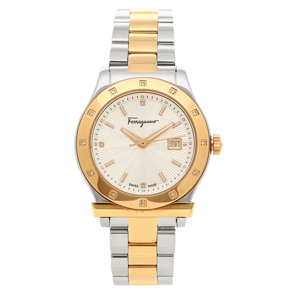 フェラガモ 腕時計 レディース Salvatore Ferragamo FF3080014 シルバー ピンクゴールド