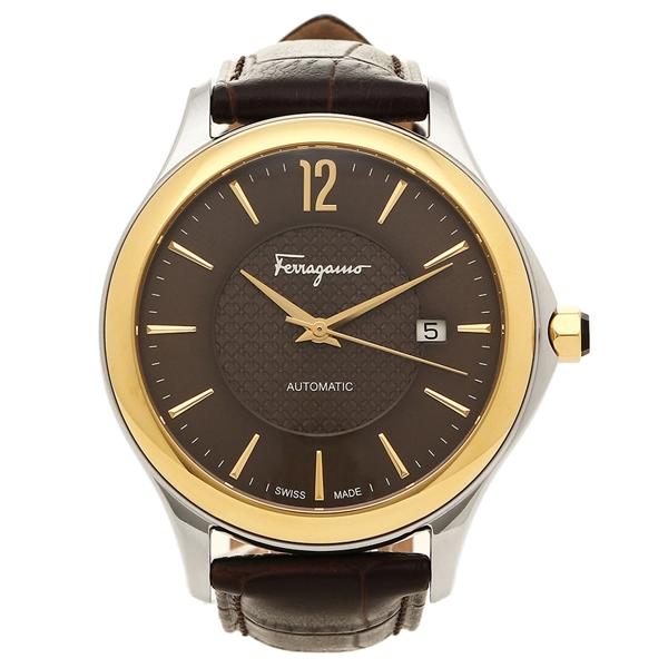 フェラガモ 腕時計 メンズ Salvatore Ferragamo FFT030016 ダークブラウン ブラウン
