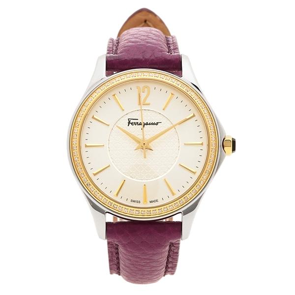 【返品OK】フェラガモ 腕時計 レディース Salvatore Ferragamo FFV030016 シルバー パープル