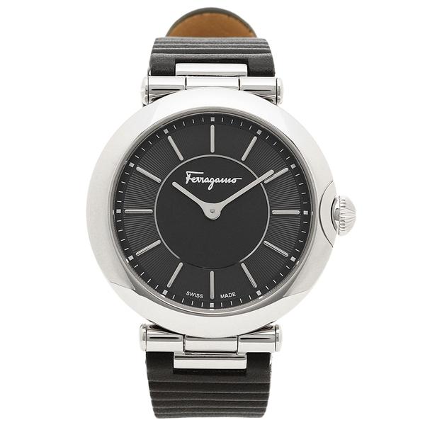 【4時間限定ポイント10倍】フェラガモ 腕時計 レディース Salvatore Ferragamo FIN010015 ブラック
