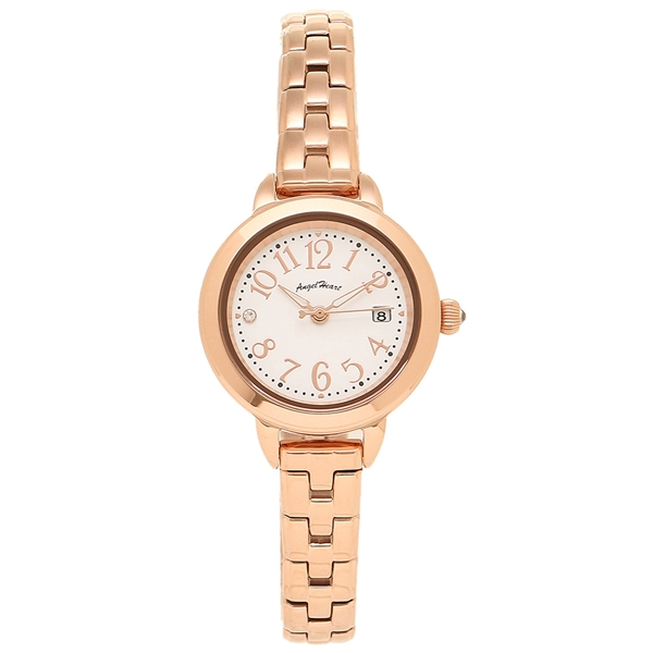 【返品OK】エンジェルハート 腕時計 レディース ANGEL HEART TT26PG ホワイト ピンクゴールド