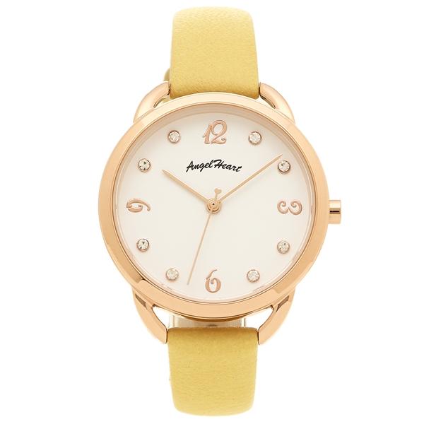 エンジェルハート 腕時計 レディース ANGEL HEART VI31P-YE ホワイト ピンクゴールド イエロー