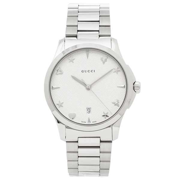 【返品OK】グッチ 腕時計 レディース GUCCI YA1264028 シルバー