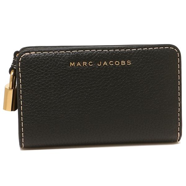 マークジェイコブス 折財布 レディース MARC JACOBS M0013604 001 ブラック