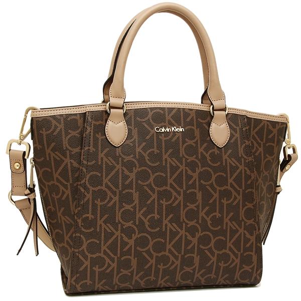 Calvin Klein Handbag Shoulder Bag Outlet Lady S H4gdj2ys Dwk Brown