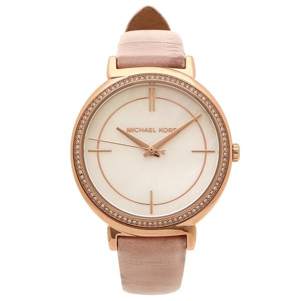 【2時間限定ポイント10倍】マイケルコース 腕時計 レディース MICHAEL KORS MK2663 ピンク ピンクゴールド シェル