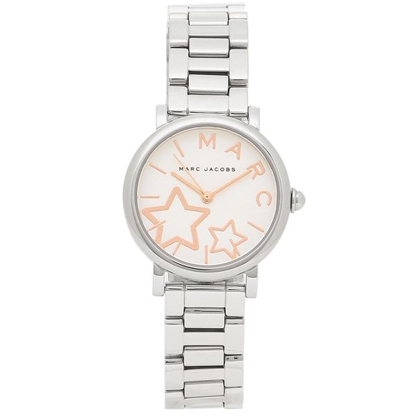 【2時間限定ポイント10倍】マークジェイコブス 腕時計 レディース MARC JACOBS MJ3591 シルバー ホワイト