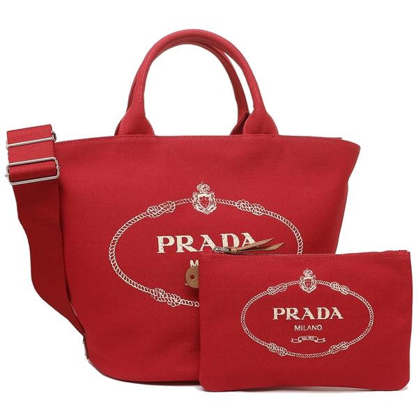 プラダ トートバッグ レディース PRADA 1BG163 ZKI F0011 レッド
