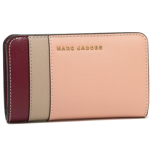 マークジェイコブス 折財布 レディース MARC JACOBS M0013706 697 ピンクマルチ