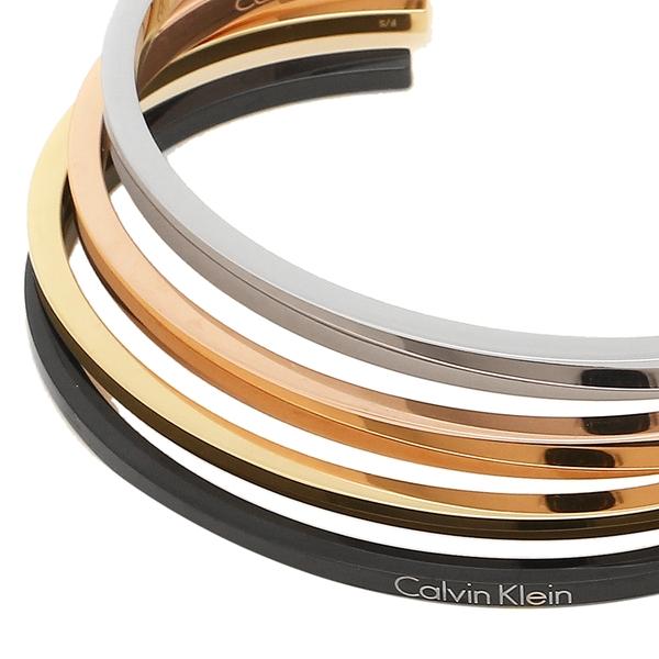 【9時間限定ポイント10倍】【返品OK】カルバンクライン ブレスレット アクセサリー メンズ レディース CALVIN KLEIN KJ7GBF40010S シルバー ゴールド ローズゴールド ブラック