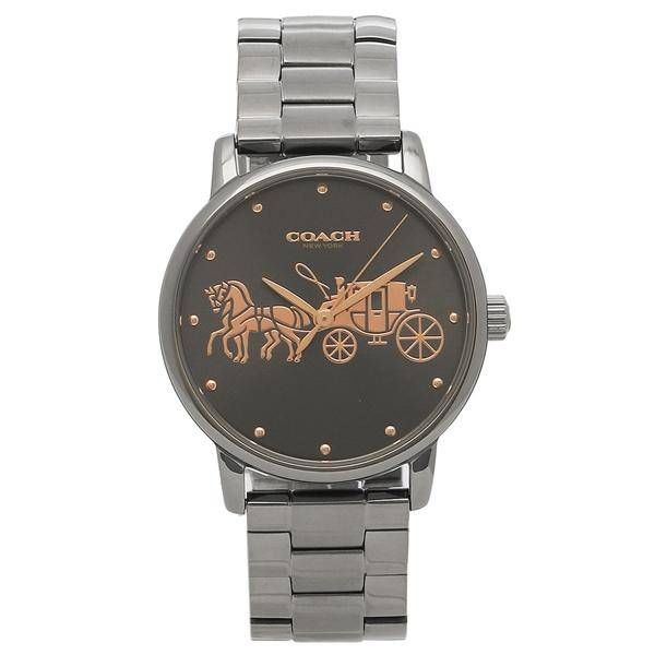 コーチ 腕時計 レディース COACH 14502924 ガンメタル