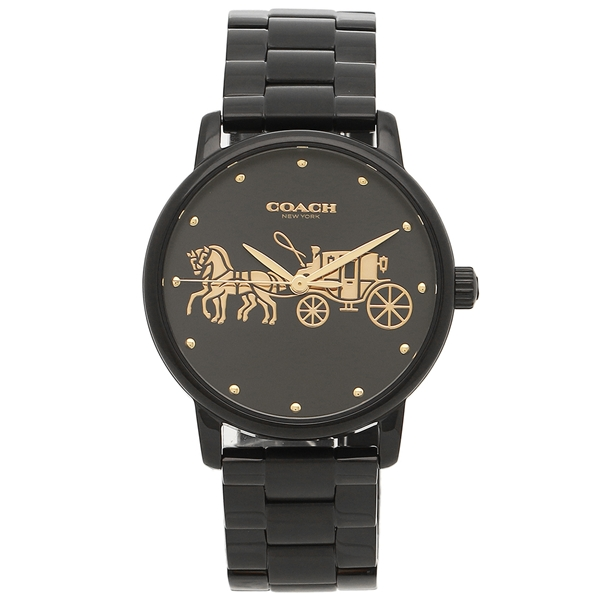 レディース コーチ COACH ブラック 腕時計 14502925