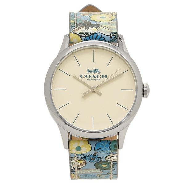 【2時間限定ポイント10倍】コーチ 腕時計 アウトレット レディース COACH W1546 LJF ホワイト シルバー マルチ