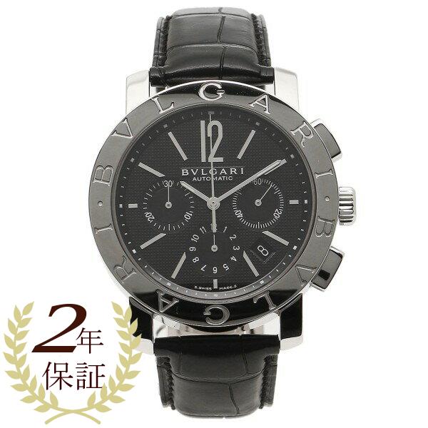 ブルガリ BVLGARI 時計 腕時計 メンズ ブルガリ 時計 メンズ BVLGARI BB42BSLDCH ブルガリブルガリ 腕時計 ウォッチ ブラック
