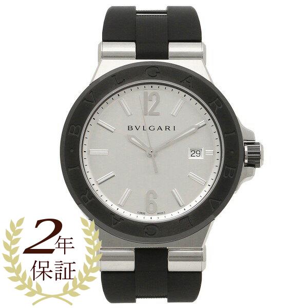 ブルガリ BVLGARI 時計 腕時計 メンズ ブルガリ 時計 メンズ BVLGARI DG42C6SCVD ディアゴノ 腕時計 ウォッチ ブラック/シルバー