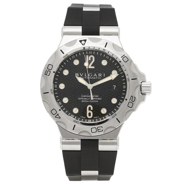 【期間限定ポイント5倍】ブルガリ BVLGARI 時計 腕時計 メンズ ブルガリ 時計 メンズ BVLGARI DP42BSVDSD ディアゴノ 腕時計 ウォッチ ブラック