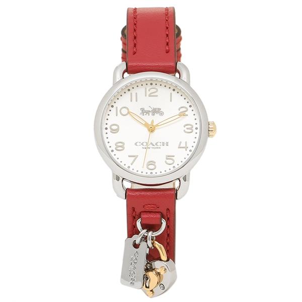 【返品OK】コーチ 腕時計 レディース COACH 14502968 レッド シルバー