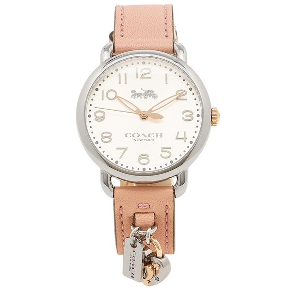 【2時間限定ポイント10倍】コーチ 腕時計 レディース COACH 14502971 ピンク シルバー
