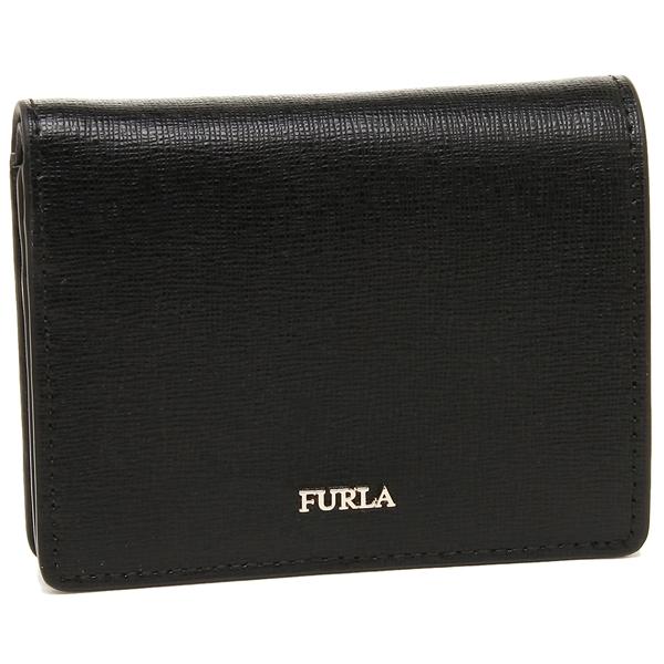 【4時間限定ポイント10倍】フルラ 折財布 レディース FURLA 962175 PZ28 B30 O60 ブラック