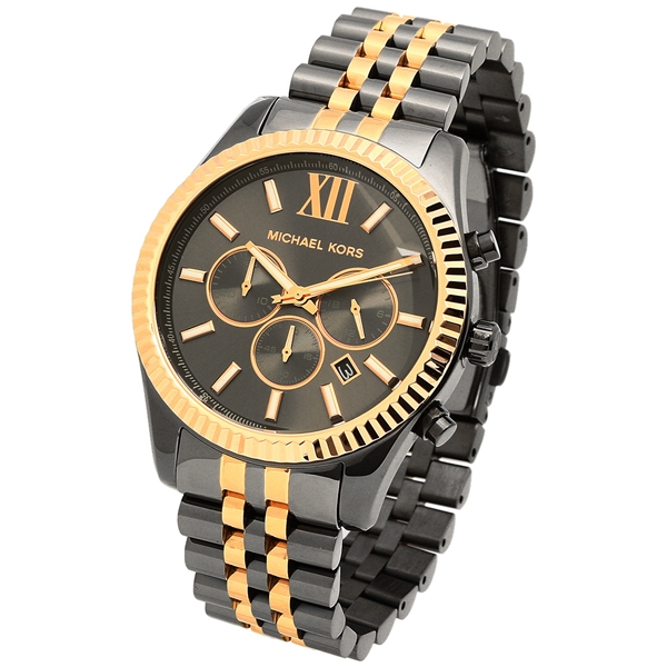 ff7e84541e9c Black And Rose Gold Watch Michael Kors - HD Image Flower and Rose ...