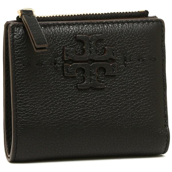 トリーバーチ 折財布 レディース TORY BURCH 45246 001 ブラック