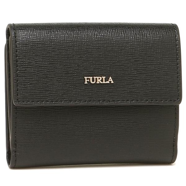 【4時間限定ポイント10倍】フルラ 折財布 レディース FURLA 963513 PZ10 B30 O60 ブラック
