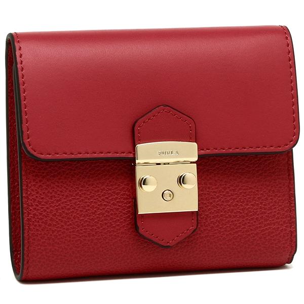 フルラ 折財布 レディース FURLA 964010 PU28 CO2 RUB レッド