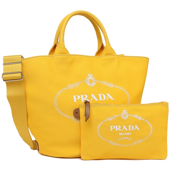 491686f3fb Brand Shop AXES  Prada tote bag Lady s PRADA 1BG163 ZKI F065Y OOO yellow
