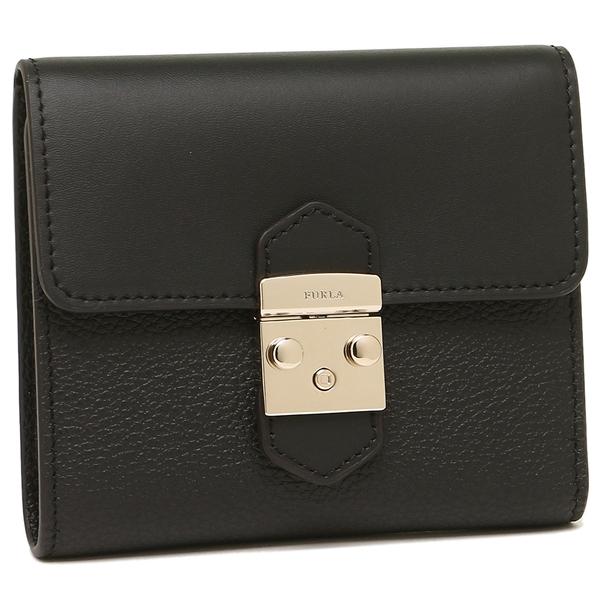 【24時間限定ポイント5倍】フルラ 折財布 レディース FURLA 964009 PU28 CO2 O60 ブラック